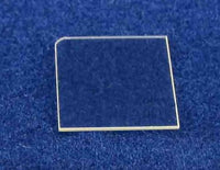 5 x 10 mm, M plane (1-100) Fe-doped semi-insulating, non-polar, free-standing Gallium Nitride (GaN),  MSE Supplies LLC