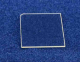 5 x 10 mm, (20-21) plane, N-type, undoped, free-standing Gallium Nitride (GaN) single crystal,  MSE Supplies