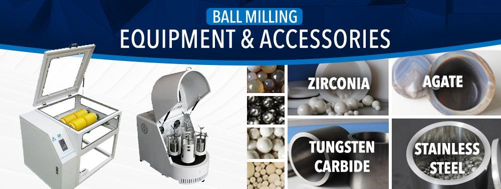 Roller mill, jar mill, planetary mill, milling media, milling beads, jars