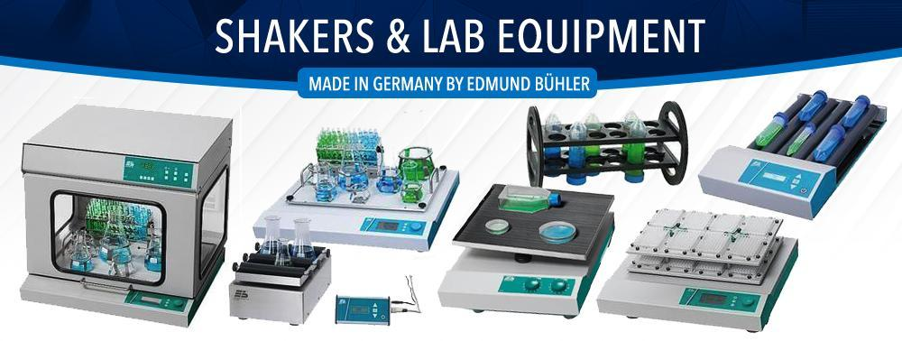 Shakers and Lab Equipment made by Edmund Buhler