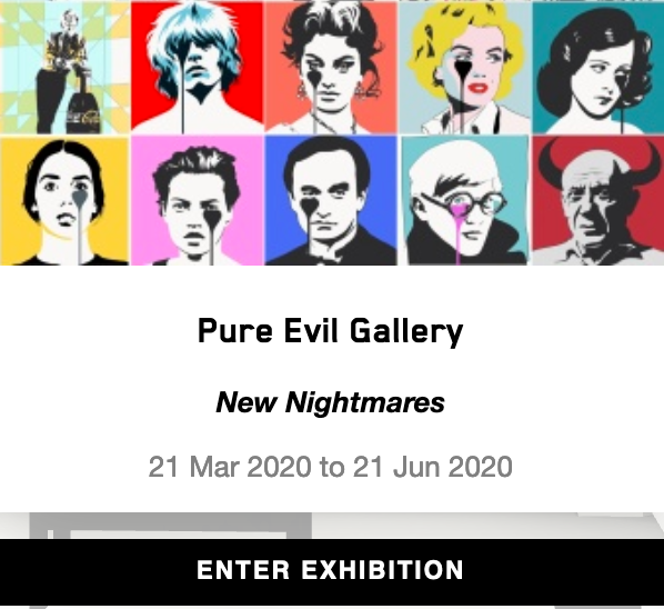 Pure Evil Gallery 3D Virtual Gallery NOW OPEN