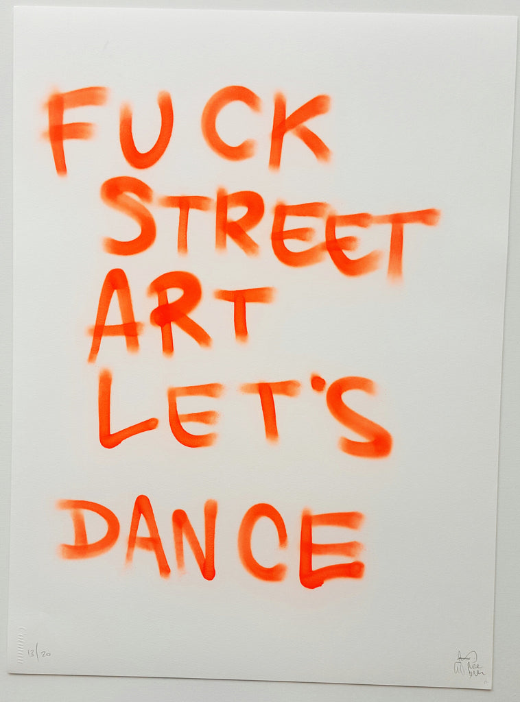 F*ck Art, Let's Dance