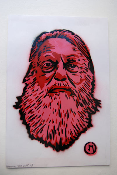 Cartooneros - Robert Wyatt Red