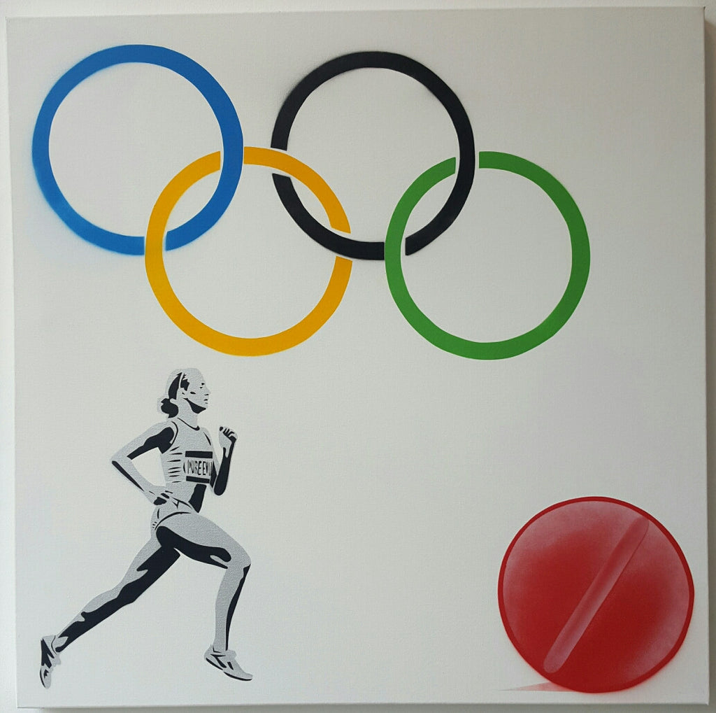 The New Logo for The Olympic Doping Team