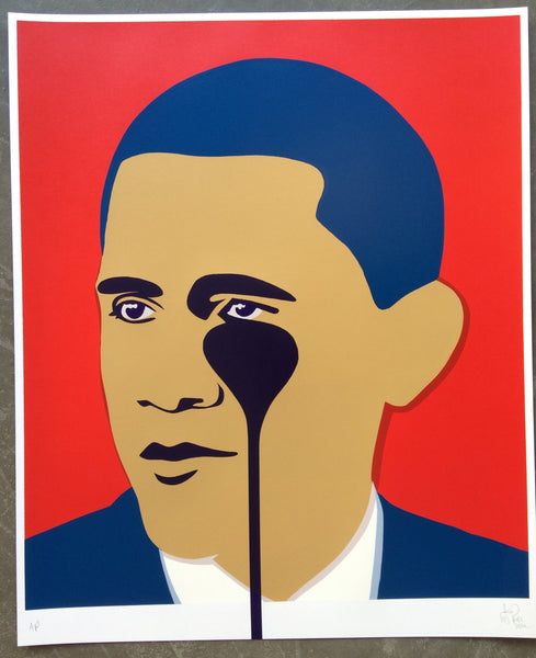 Crying Obama (red)
