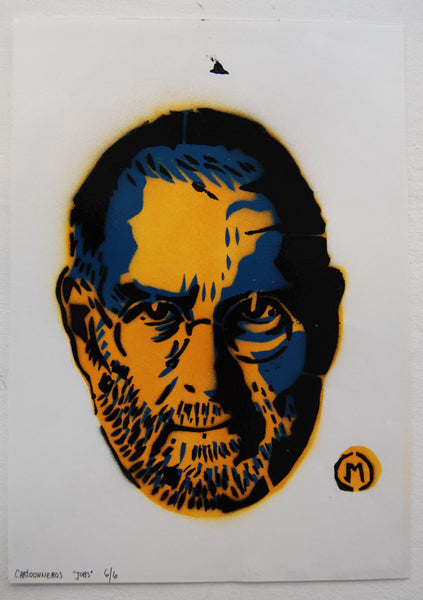 Cartooneros - Jobs Stencil