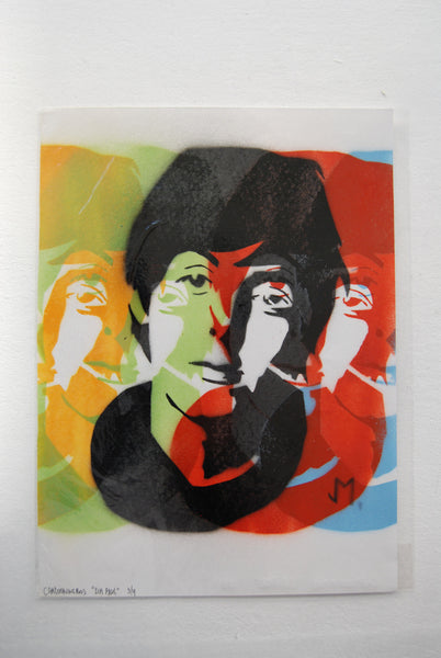 Cartooneros - Sir Paul Stencil