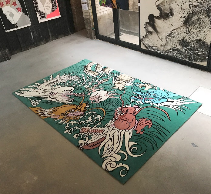 Dream Eating Dragons Tapestry
