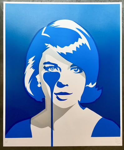Natalie Wood - Christopher Walken's Nightmare - Double Exposure Blue