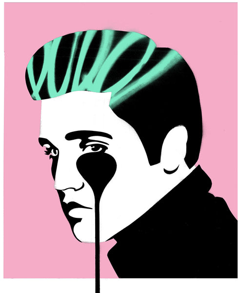 Pure Elvis - King Creole (Pink, Black, Green)
