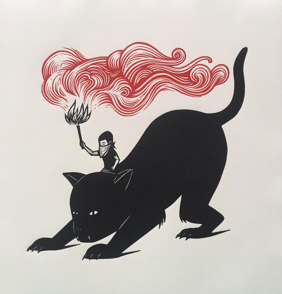 Alberto Cruz - Untitled (gato) 40
