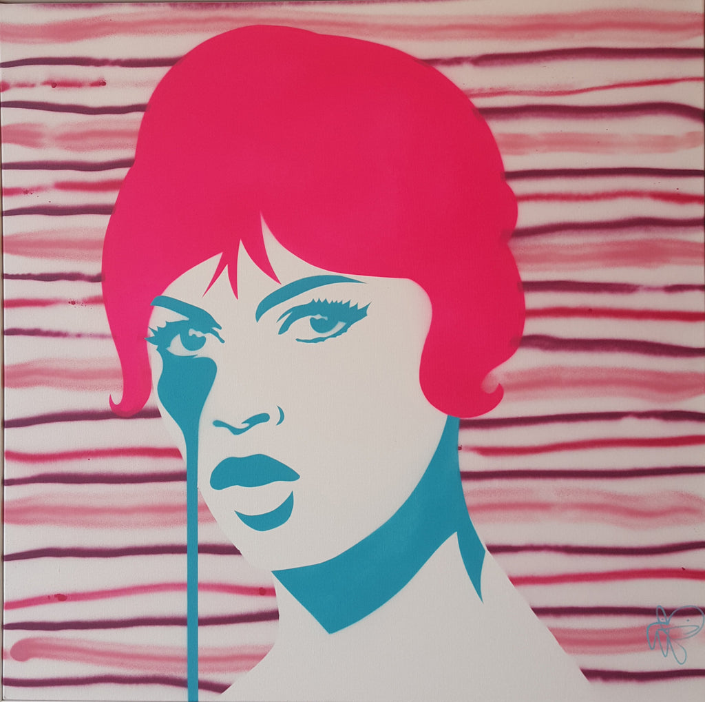 Gunther Sachs' Nightmare - 80's Stripe Bardot