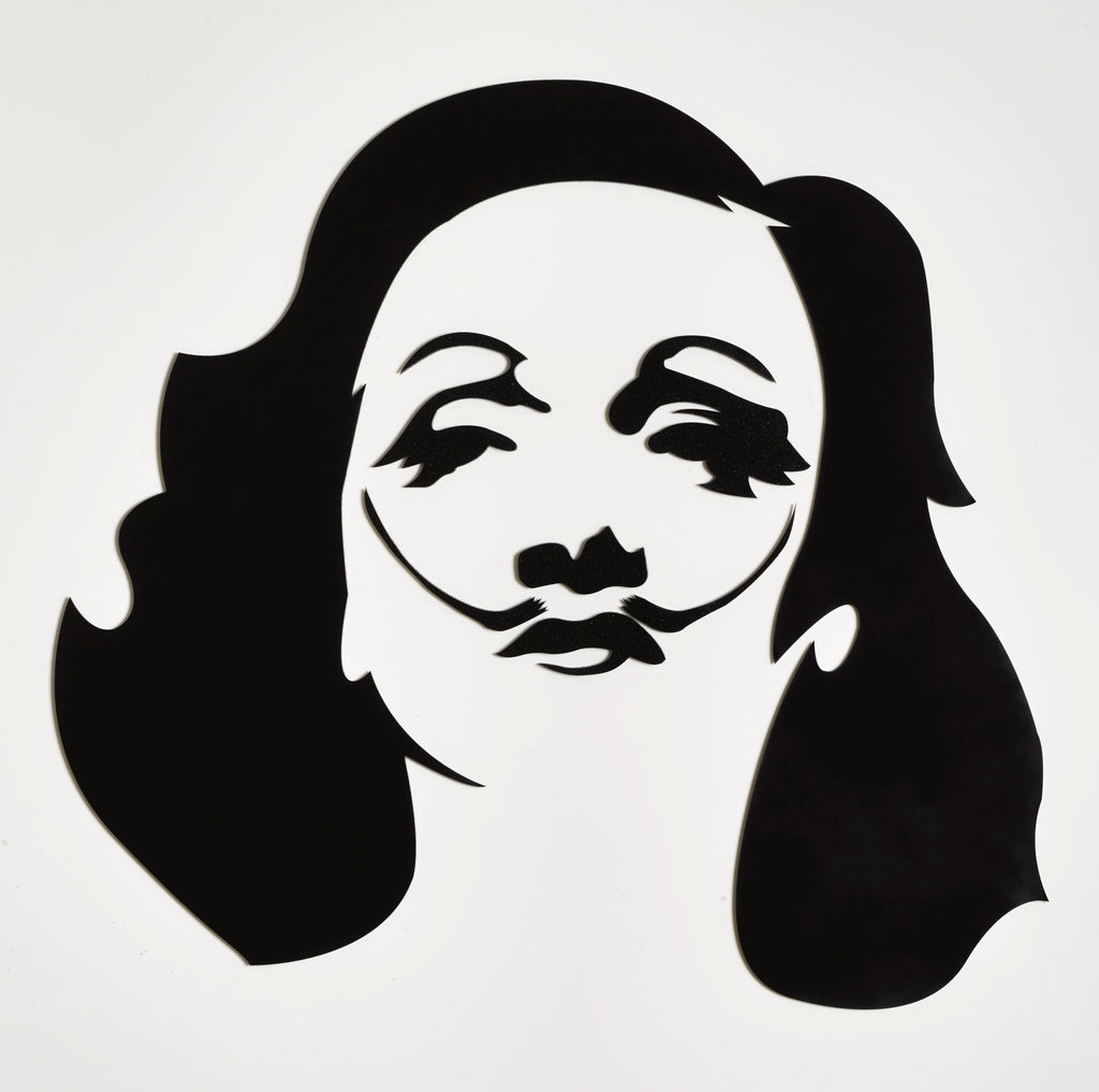 Plastics - Marlene Dali Black and White