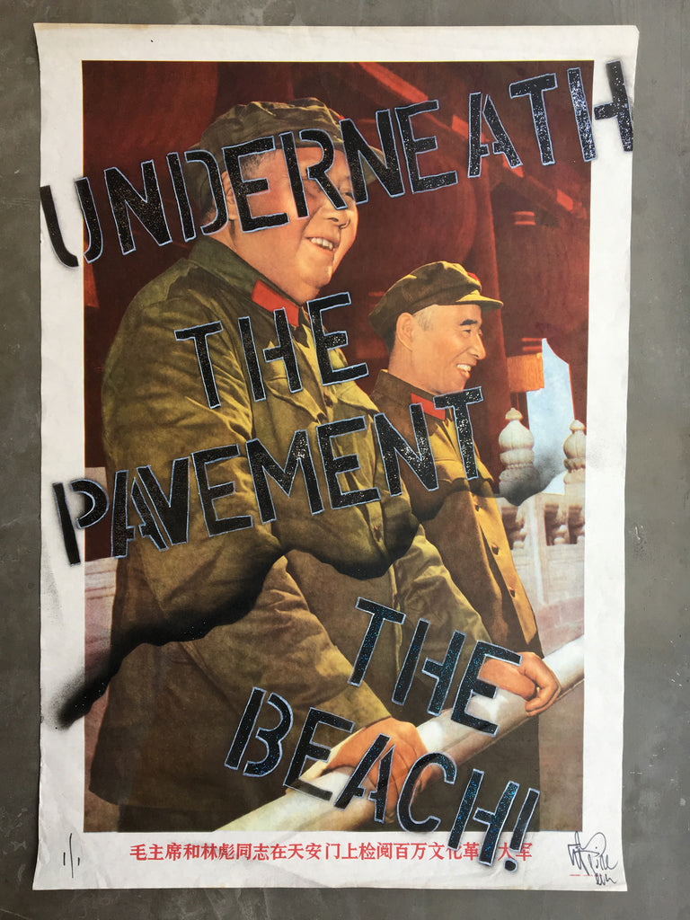 Chinese Propaganda - Underneath the pavement The beach