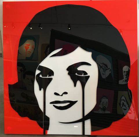 Perspex Jackie Kennedy - JFK's Nightmare