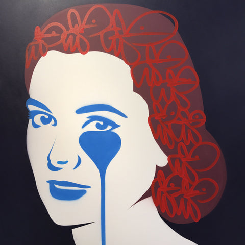 Rainer 3rd Prince of Monaco's Nightmare - Grace Kelly Blue and Red