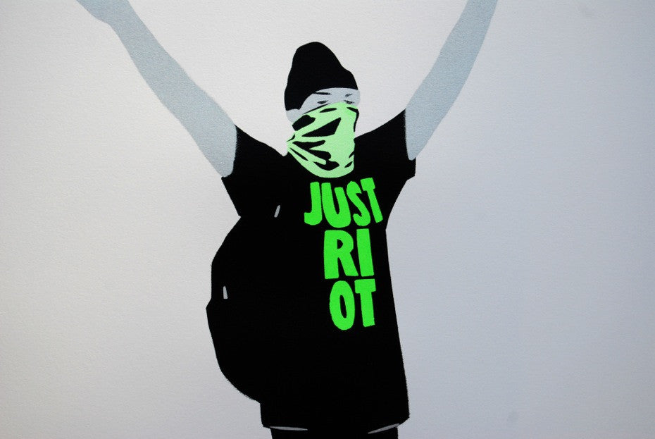 Just Riot (flouro green)