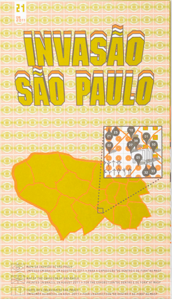 SPACE INVADER - Sao Paulo Invasion map