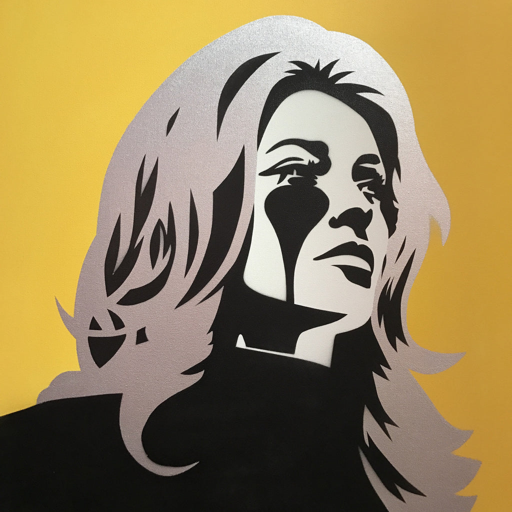 Roman Polanski's Nightmare II - Sharon Tate - Silver & Yellow