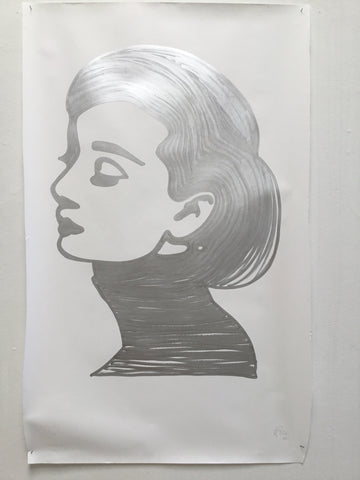 Paris Audrey - Swedish Show KRINK drawing on paper