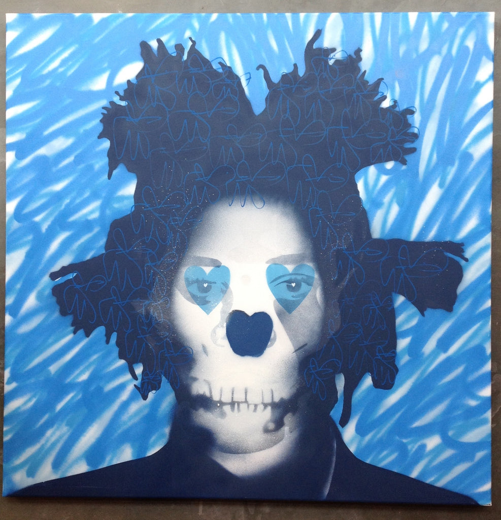 Basquiat Death Mask