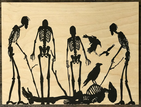 Klaas Van der Linden - Poking the dead