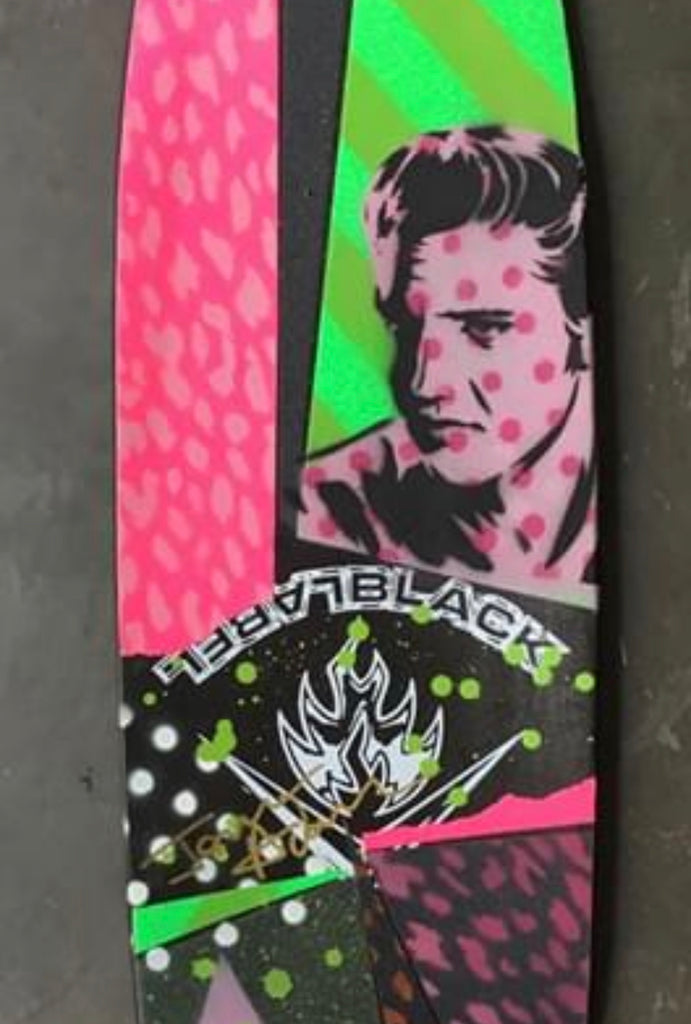 Slappy Hour Concrete Club Deck - Pink Elvis