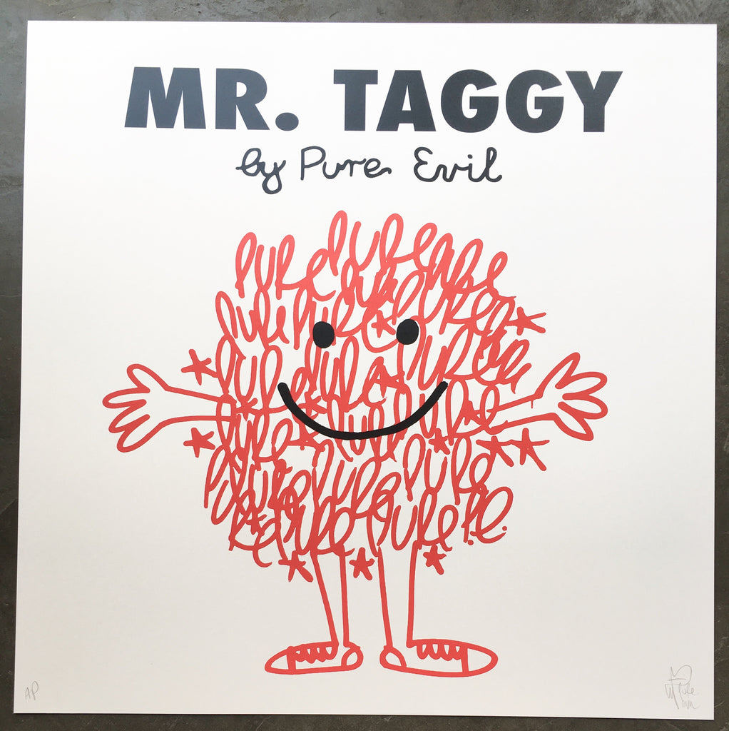 Mr. Taggy by Pure Evil