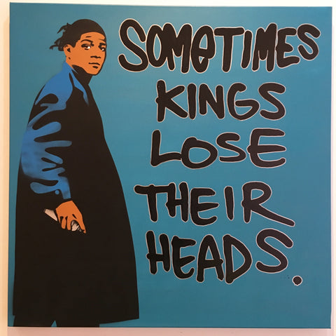 Basquiat Bombing - Sometimes Kings Lose Their Heads