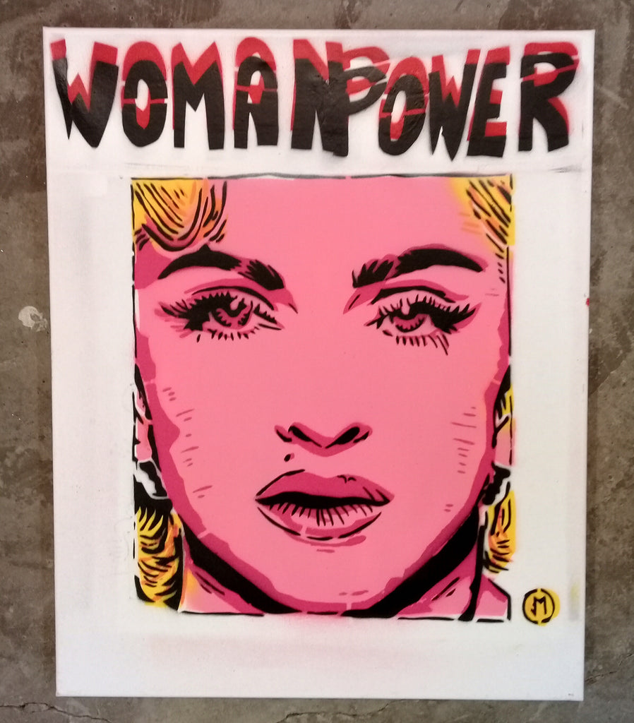 Cartoonneros - Womanpower Madonna 1