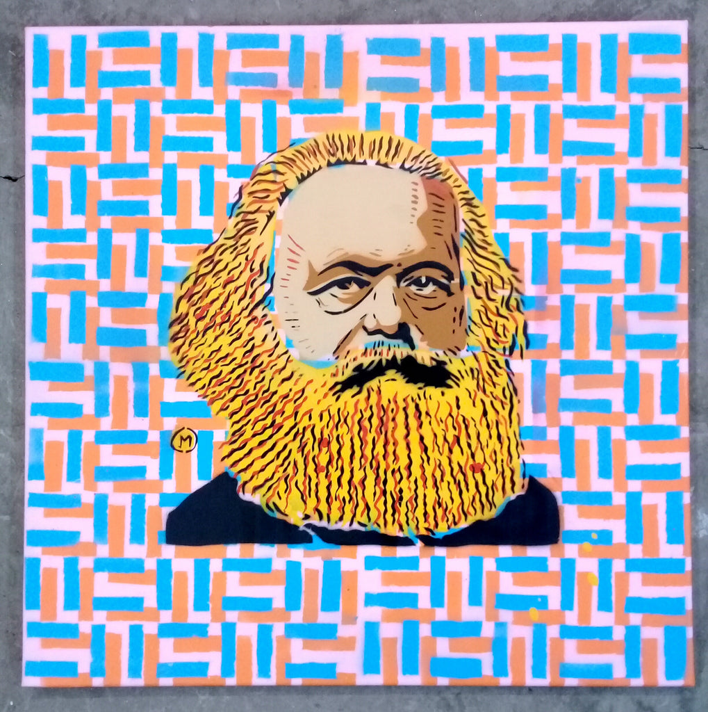 Cartoonneros - Karl Marx Square