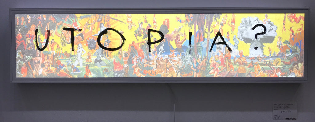 UTOPIA - Sex and Moderate Violence LED box