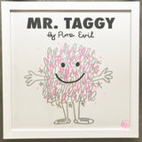 Mr. Taggy - Krink and Pink FRAMED