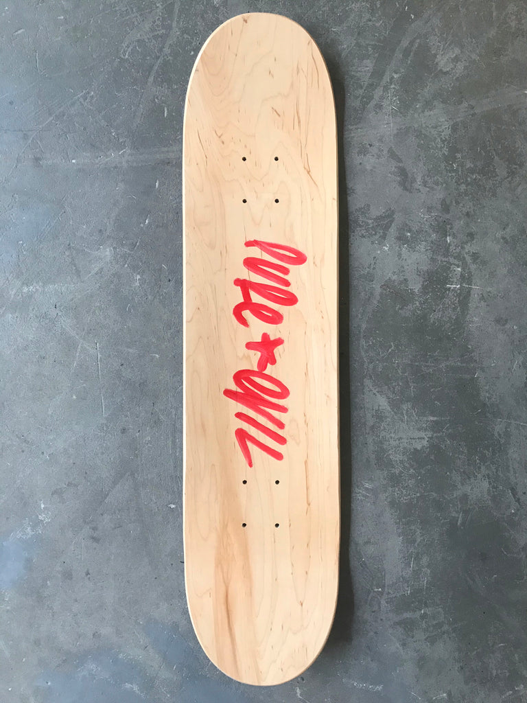 The Red Hand 8/10 - The Pure Evil Skateboard Company