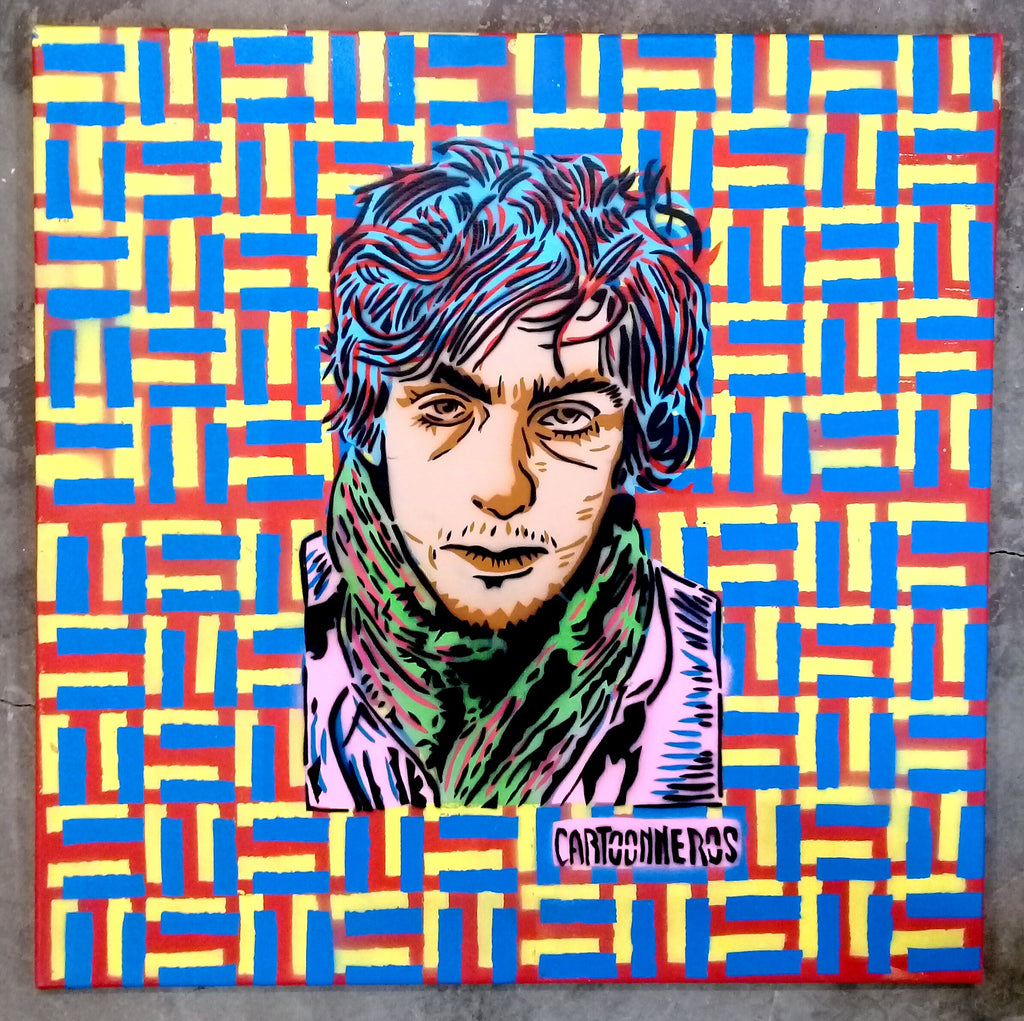 Cartoonneros - Syd Barrett Square
