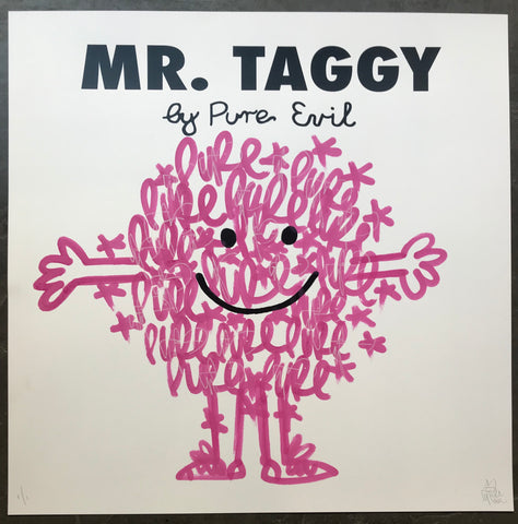 Mr. Taggy - Pink Noodles