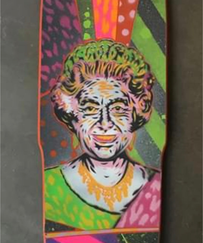 Slappy Hour Concrete Club Deck - Queen