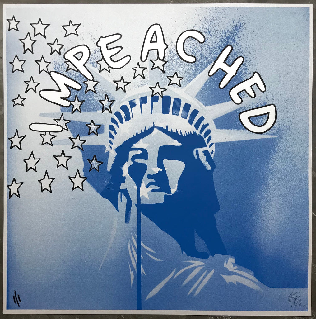 AMERIKA  BLUE - IMPEACHED