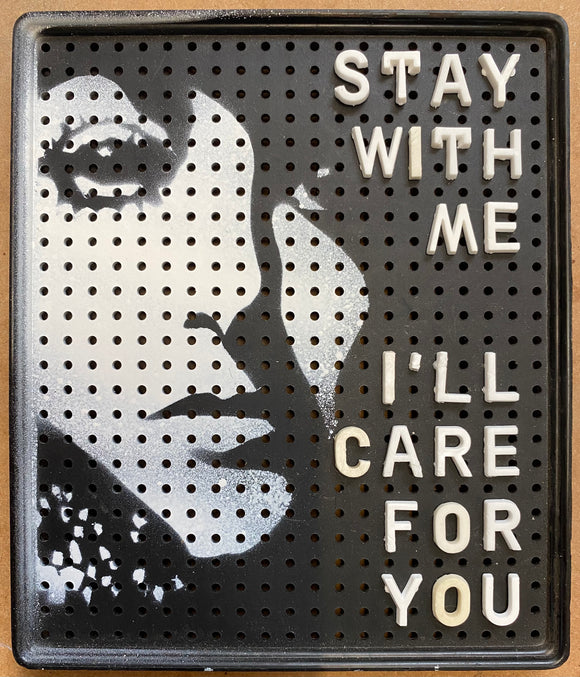 Stay with me -  1950's Movitex message and price panels