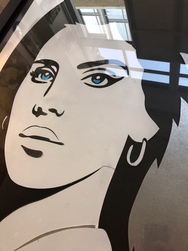 Lana Del Rey's Nightmare- Retired Stencil 2