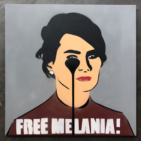 Free Melania! - Dark Clouds