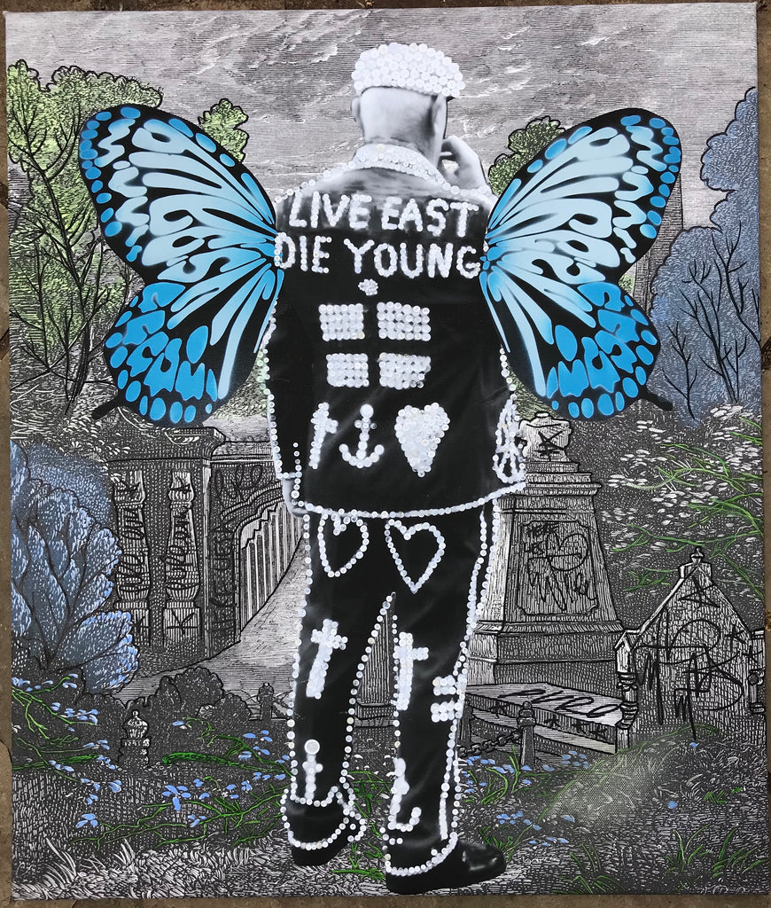 Pearly King - Tagged Canvas