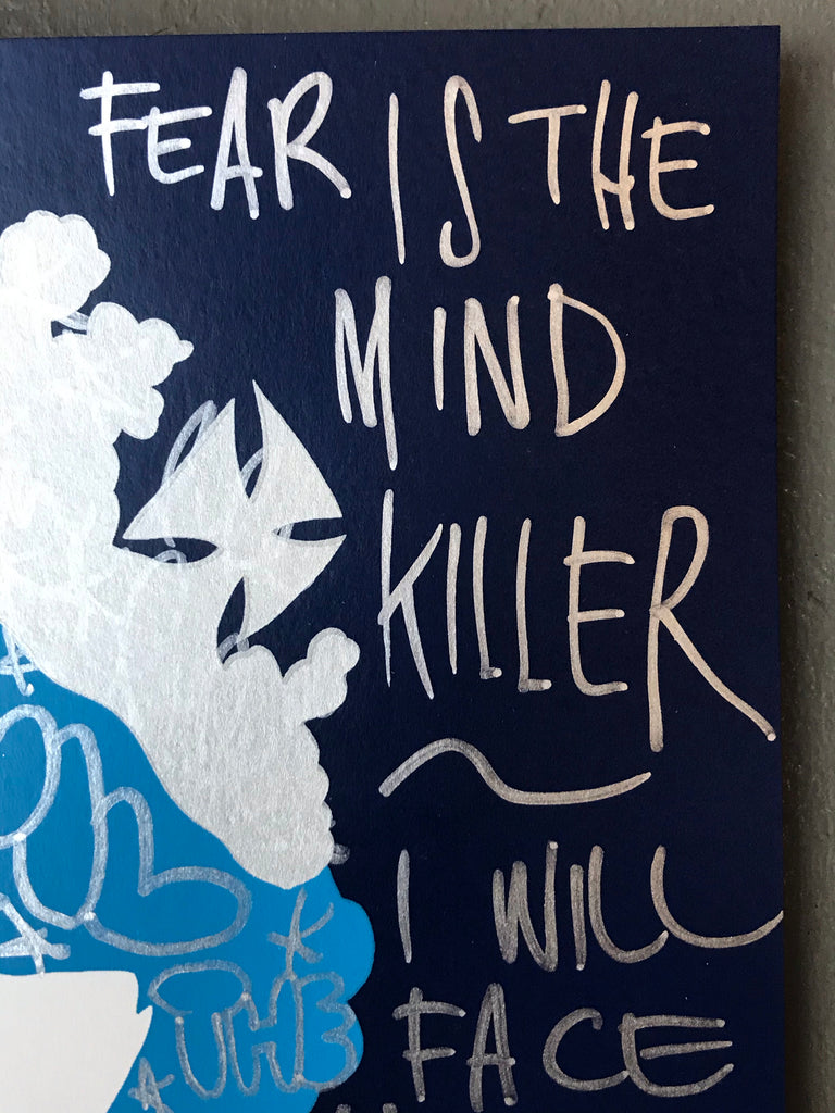 Fear is the mind killer - Handfinished Small Prince Philip's Nightmare