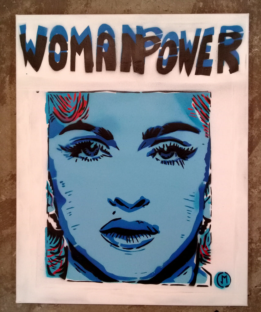 Cartoonneros - Womanpower Madonna 2