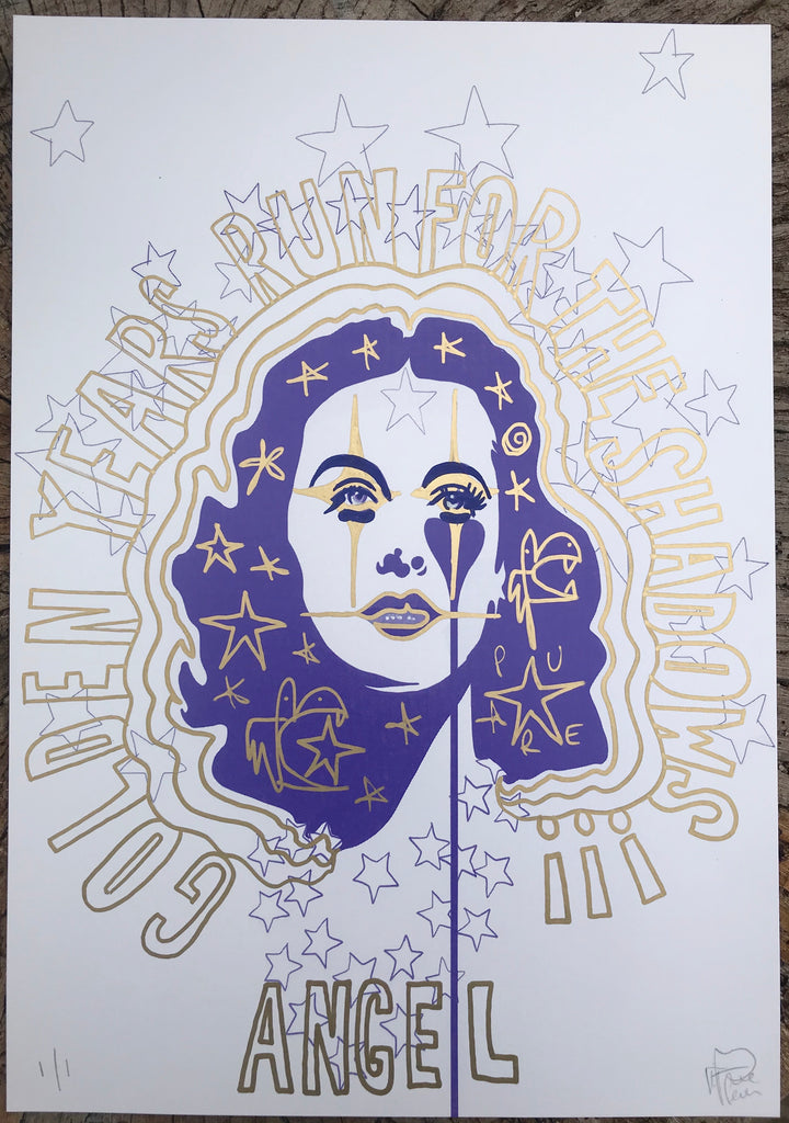 Hedy Lamarr Golden Years - Handfinished print