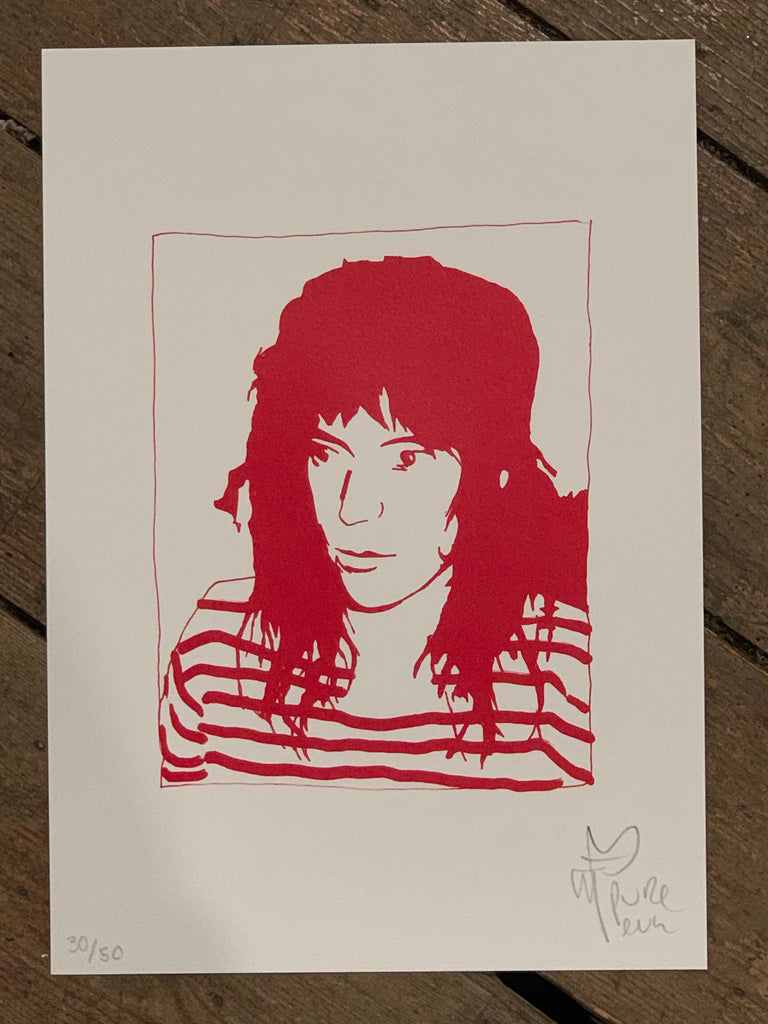 Patti Smith Polaroid ACBF