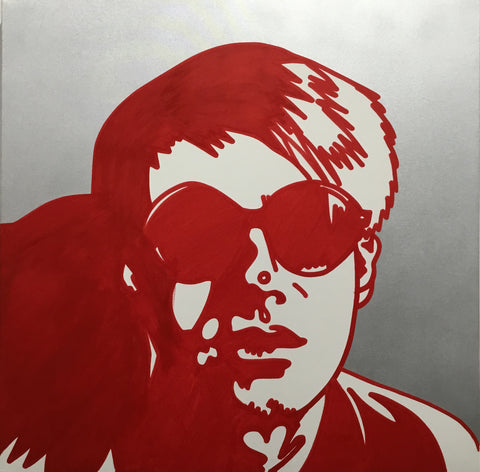 Glasses Warhol  - Miami Canvas