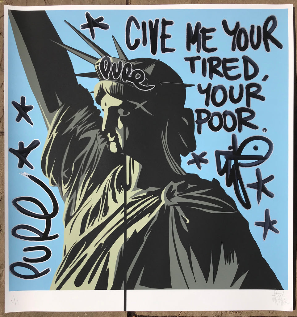 America's Nightmare 2020 Handfinished - Give me your tired, your poor