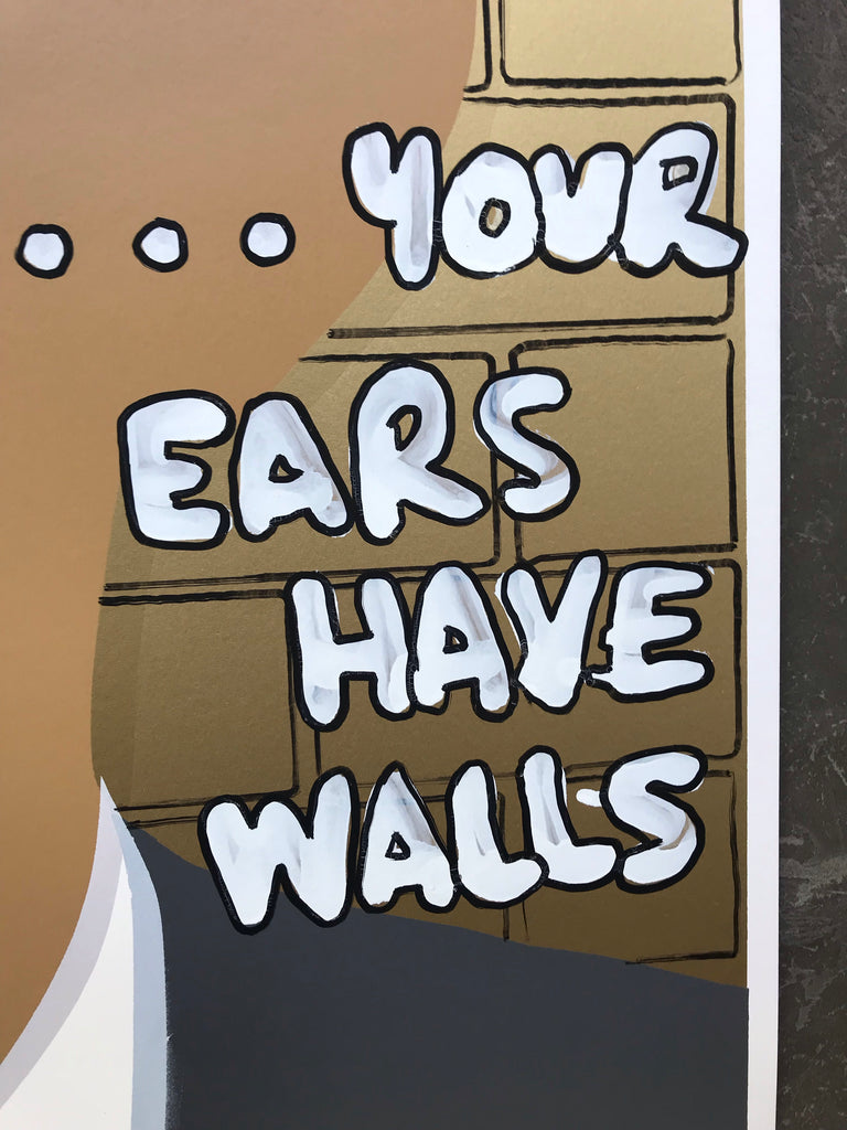 Crying Obama - The walls have ears, your ears have walls