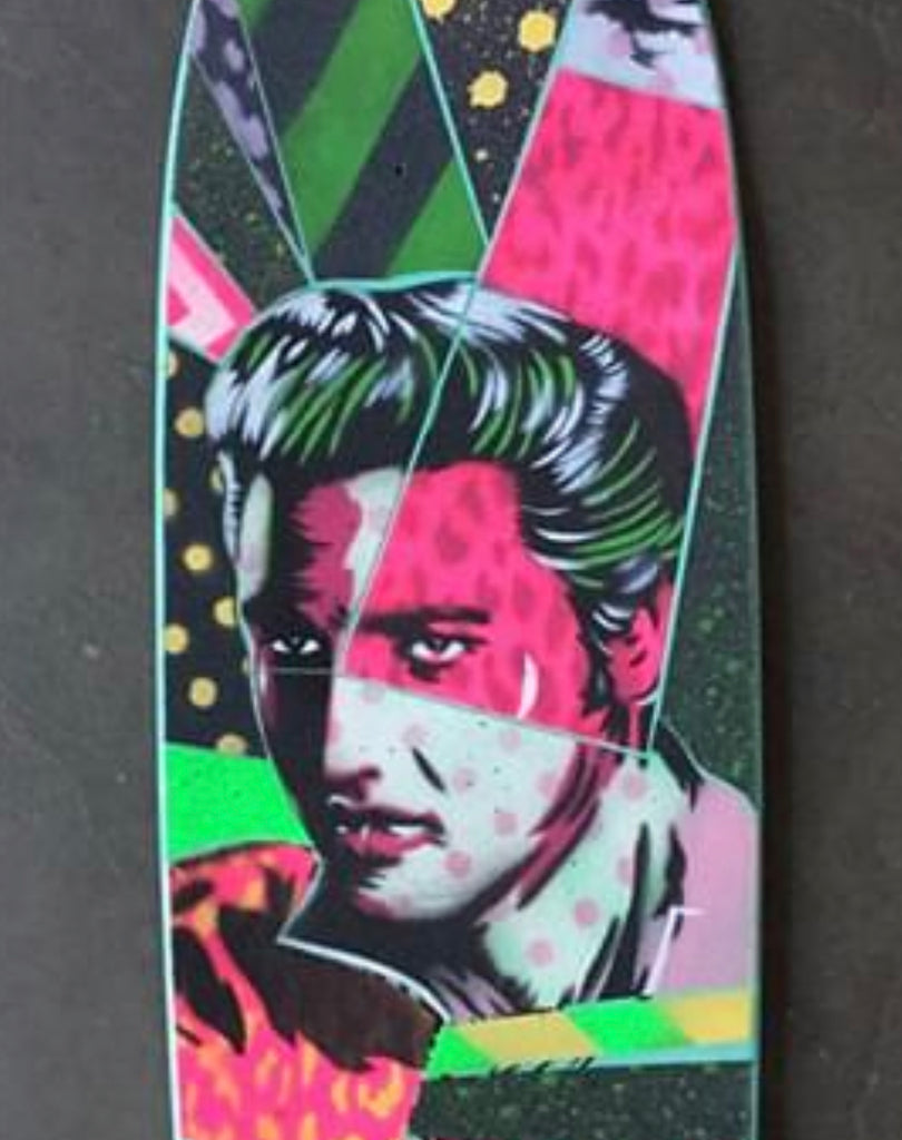 Slappy Hour Concrete Club Deck - Elvis